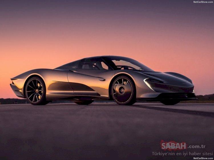 2020 McLaren Speedtail rekor kırdı! 1050 beygir gücünde yeni canavar kasıp kavurdu