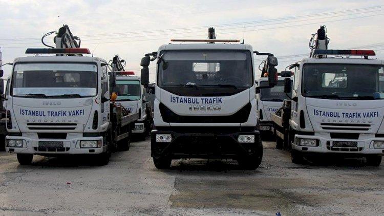 Trafik Vakfı araç çekmeyi bıraktı, İstanbul Polis Hizmetlerini Geliştirme Derneği çekmeye devam edecek